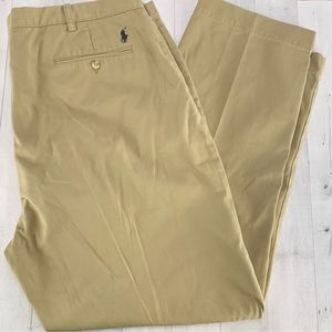 Polo Ralph Lauren Preston Chino Khaki Pants 44 Big